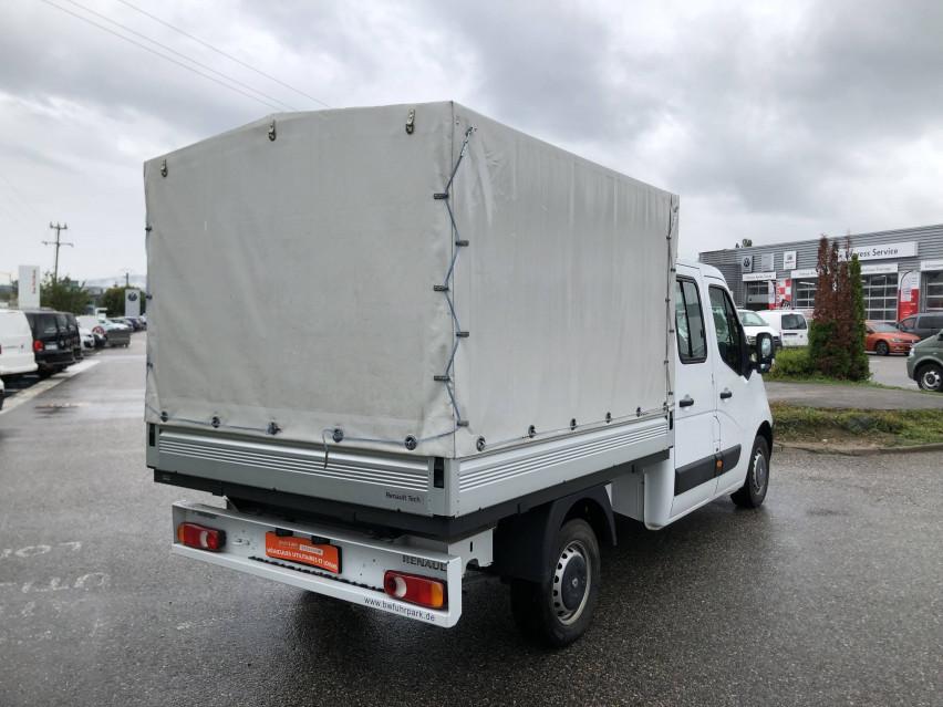 RENAULT MASTER CHASSIS DBLE CAB MASTER 2.3dCi  L2H1 3.5t 130CH Plateau double cabine 28/08/2019                                                      en vente à La Motte-Servolex - Image n°6