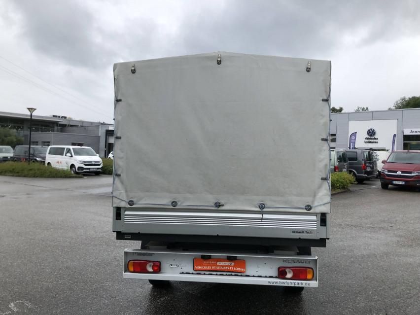 RENAULT MASTER CHASSIS DBLE CAB MASTER 2.3dCi  L2H1 3.5t 130CH Plateau double cabine 28/08/2019                                                      en vente à La Motte-Servolex - Image n°7