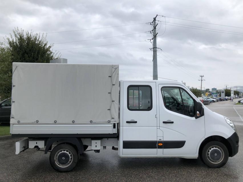 RENAULT MASTER CHASSIS DBLE CAB MASTER 2.3dCi  L2H1 3.5t 130CH Plateau double cabine 28/08/2019                                                      en vente à La Motte-Servolex - Image n°5