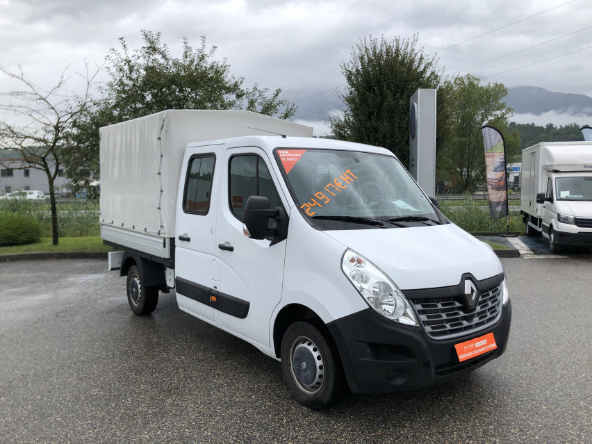 RENAULT MASTER CHASSIS DBLE CAB MASTER 2.3dCi  L2H1 3.5t 130CH Plateau double cabine 28/08/2019                                                      en vente à La Motte-Servolex - Image n°3
