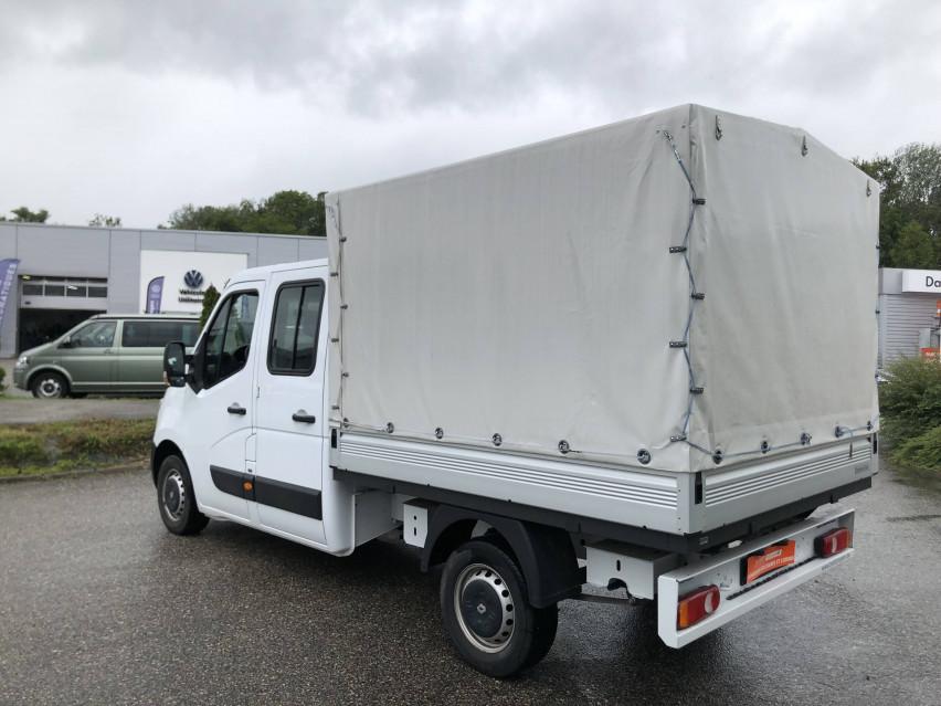 RENAULT MASTER CHASSIS DBLE CAB MASTER 2.3dCi  L2H1 3.5t 130CH Plateau double cabine 28/08/2019                                                      en vente à La Motte-Servolex - Image n°8