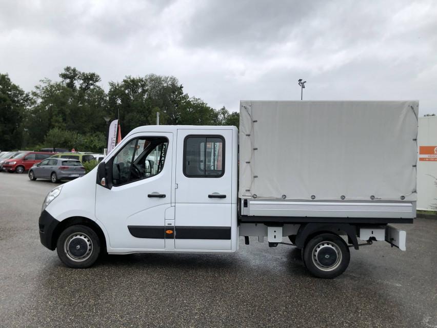 RENAULT MASTER CHASSIS DBLE CAB MASTER 2.3dCi  L2H1 3.5t 130CH Plateau double cabine 28/08/2019                                                      en vente à La Motte-Servolex - Image n°9