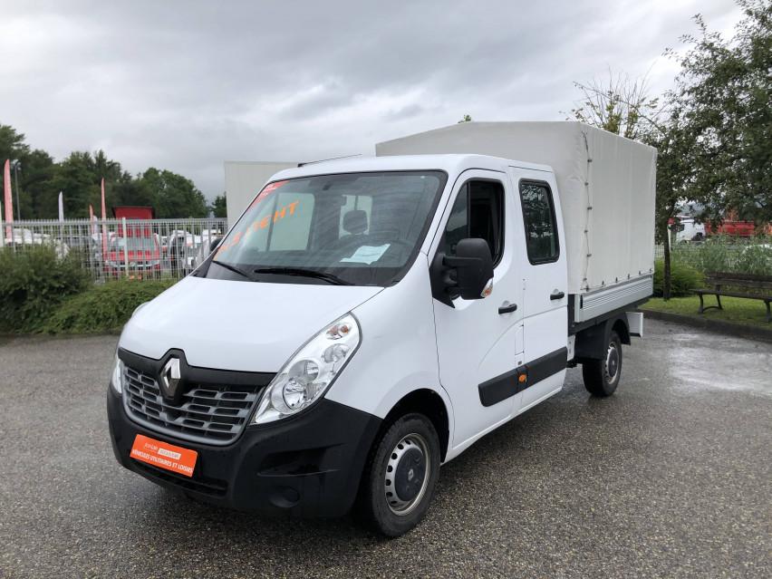RENAULT MASTER CHASSIS DBLE CAB MASTER 2.3dCi  L2H1 3.5t 130CH Plateau double cabine 28/08/2019                                                      en vente à La Motte-Servolex - Image n°1