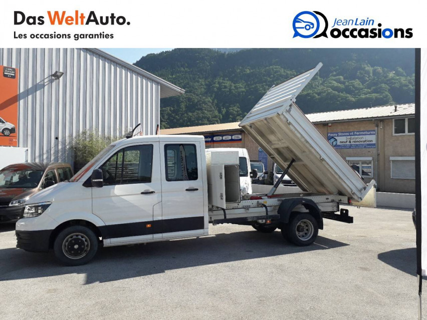 VOLKSWAGEN CRAFTER CHASSIS DOUBLE CABINE CRAFTER CHASSIS DC PROPULSION (RJ) 50L4 2.0 TDI 177CH BUSINESS LINE 20/12/2018                                                      en vente à Sallanches - Image n°6