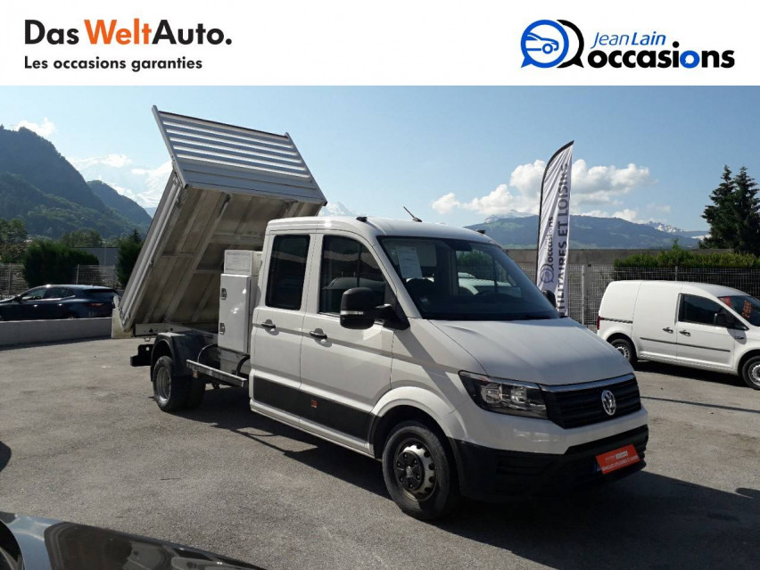 VOLKSWAGEN CRAFTER CHASSIS DOUBLE CABINE CRAFTER CHASSIS DC PROPULSION (RJ) 50L4 2.0 TDI 177CH BUSINESS LINE 20/12/2018                                                      en vente à Sallanches - Image n°3
