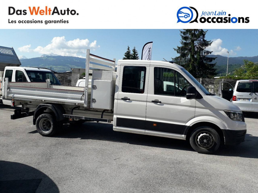 VOLKSWAGEN CRAFTER CHASSIS DOUBLE CABINE CRAFTER CHASSIS DC PROPULSION (RJ) 50L4 2.0 TDI 177CH BUSINESS LINE 20/12/2018                                                      en vente à Sallanches - Image n°9