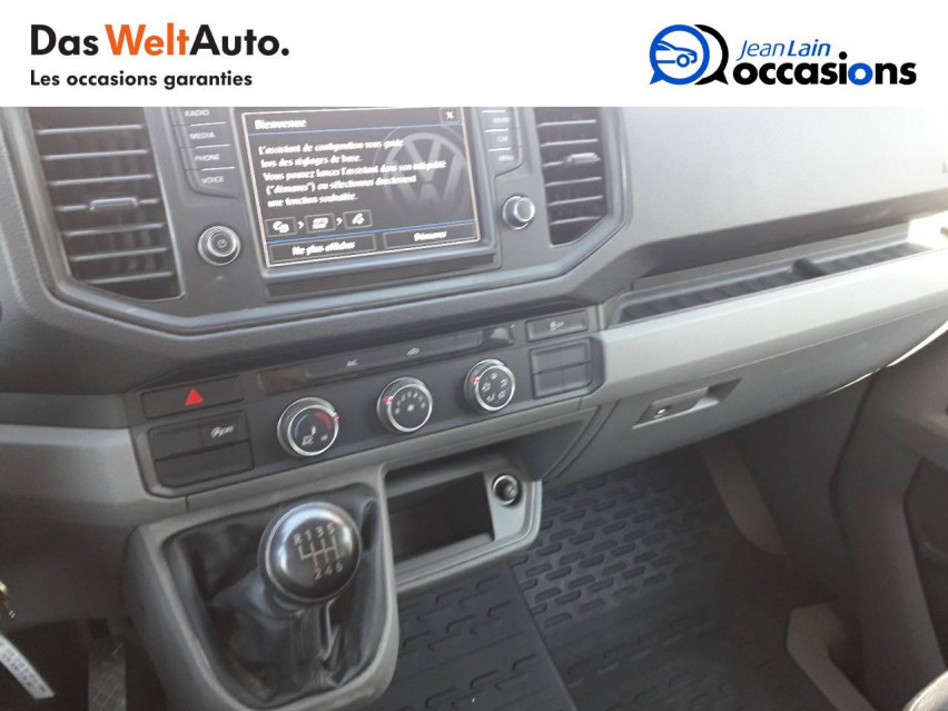 VOLKSWAGEN CRAFTER CHASSIS DOUBLE CABINE CRAFTER CHASSIS DC PROPULSION (RJ) 50L4 2.0 TDI 177CH BUSINESS LINE 20/12/2018                                                      en vente à Sallanches - Image n°13