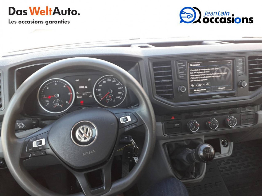 VOLKSWAGEN CRAFTER CHASSIS DOUBLE CABINE CRAFTER CHASSIS DC PROPULSION (RJ) 50L4 2.0 TDI 177CH BUSINESS LINE 20/12/2018                                                      en vente à Sallanches - Image n°12