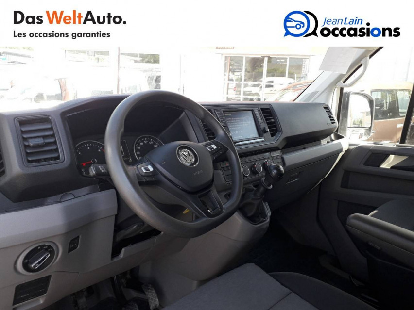 VOLKSWAGEN CRAFTER CHASSIS DOUBLE CABINE CRAFTER CHASSIS DC PROPULSION (RJ) 50L4 2.0 TDI 177CH BUSINESS LINE 20/12/2018                                                      en vente à Sallanches - Image n°11