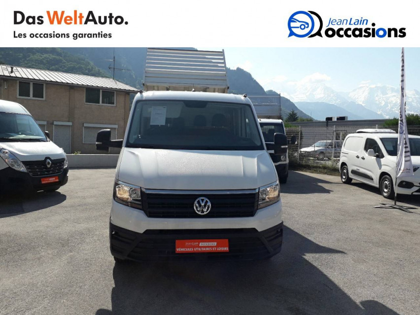 VOLKSWAGEN CRAFTER CHASSIS DOUBLE CABINE CRAFTER CHASSIS DC PROPULSION (RJ) 50L4 2.0 TDI 177CH BUSINESS LINE 20/12/2018                                                      en vente à Sallanches - Image n°2