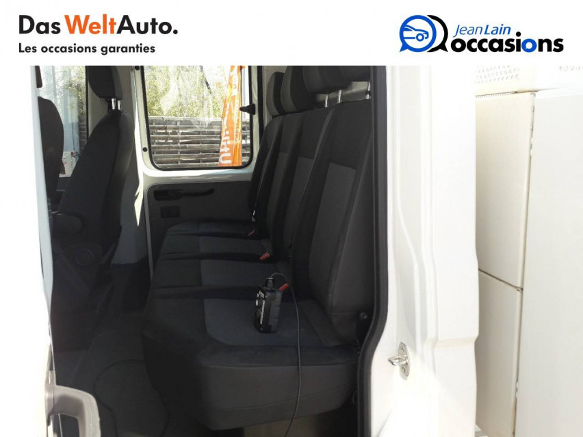 VOLKSWAGEN CRAFTER CHASSIS DOUBLE CABINE CRAFTER CHASSIS DC PROPULSION (RJ) 50L4 2.0 TDI 177CH BUSINESS LINE 20/12/2018                                                      en vente à Sallanches - Image n°10
