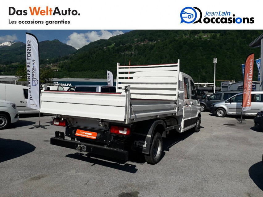 VOLKSWAGEN CRAFTER CHASSIS DOUBLE CABINE CRAFTER CHASSIS DC PROPULSION (RJ) 50L4 2.0 TDI 177CH BUSINESS LINE 20/12/2018                                                      en vente à Sallanches - Image n°4
