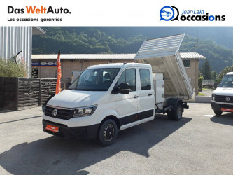VOLKSWAGEN CRAFTER CHASSIS DOUBLE CABINE CRAFTER CHASSIS DC PROPULSION (RJ) 50L4 2.0 TDI 177CH BUSINESS LINE 20/12/2018 en vente à Sallanches