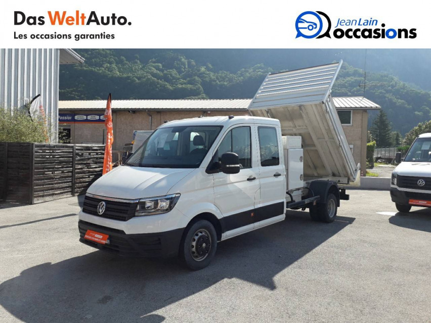 VOLKSWAGEN CRAFTER CHASSIS DOUBLE CABINE CRAFTER CHASSIS DC PROPULSION (RJ) 50L4 2.0 TDI 177CH BUSINESS LINE 20/12/2018                                                      en vente à Sallanches - Image n°1