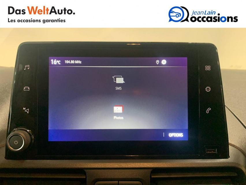 OPEL COMBO CARGO COMBO CARGO FRIGO 1.5 100 ch 4P 3PL PACK CLIM 14/09/2020                                                      en vente à Seynod - Image n°16