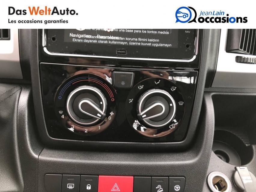 FIAT DUCATO CHASSIS CABINE EURO 6D-TEMP DUCATO CC MAXI 3.5 M 2.3 MJT 140 PACK 29/10/2020                                                      en vente à La Motte-Servolex - Image n°14