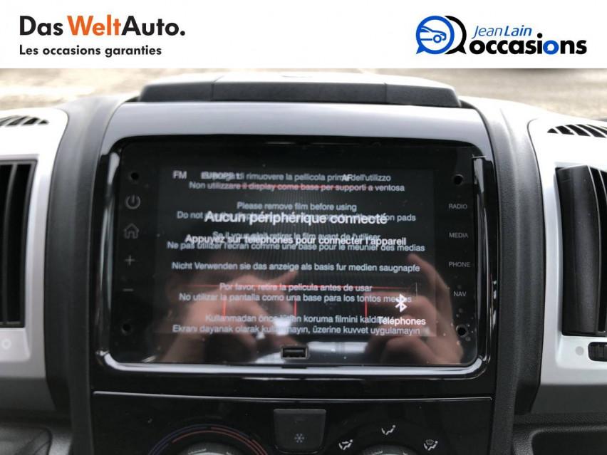 FIAT DUCATO CHASSIS CABINE EURO 6D-TEMP DUCATO BENNE MAXI 3.5 M 2.3 MJT 140 PACK 29/10/2020                                                      en vente à Sallanches - Image n°16