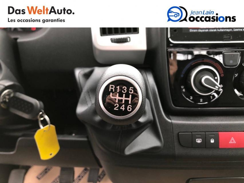 FIAT DUCATO CHASSIS CABINE EURO 6D-TEMP DUCATO CC MAXI 3.5 M 2.3 MJT 140 PACK 29/10/2020                                                      en vente à Sallanches - Image n°13