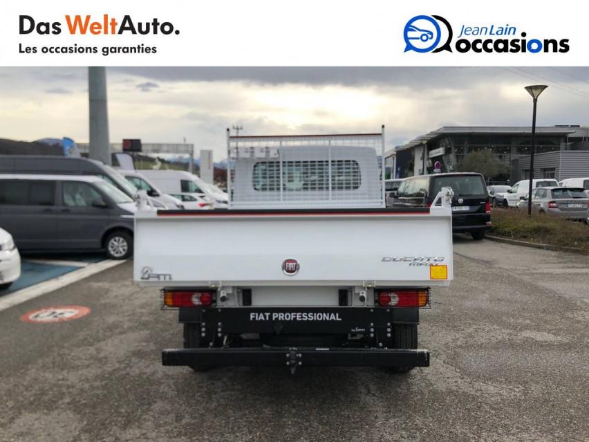 FIAT DUCATO CHASSIS CABINE EURO 6D-TEMP DUCATO BENNE MAXI 3.5 M 2.3 MJT 140 PACK 29/10/2020                                                      en vente à Sallanches - Image n°6