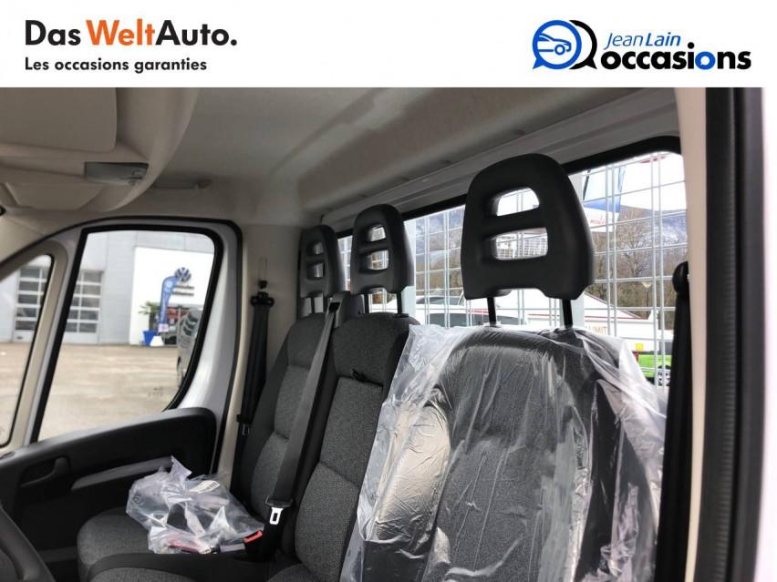 FIAT DUCATO CHASSIS CABINE EURO 6D-TEMP DUCATO CC MAXI 3.5 M 2.3 MJT 140 PACK 29/10/2020                                                      en vente à La Motte-Servolex - Image n°17