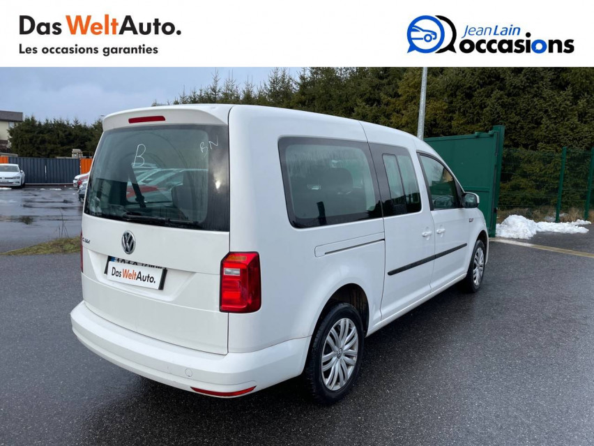 VOLKSWAGEN CADDY MAXI Caddy Maxi 2.0 TDI 102 Trendline 08/05/2019                                                      en vente à La Motte-Servolex - Image n°6