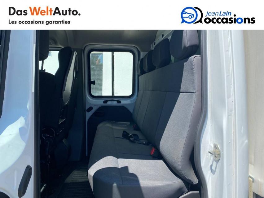 RENAULT MASTER CHASSIS DBLE CAB MASTER 2.3dCi  L2H1 3.5t 130CH 07/10/2019                                                      en vente à Seyssinet-Pariset - Image n°16