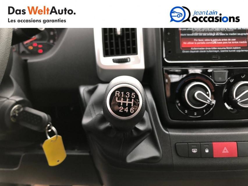 FIAT DUCATO CHASSIS CABINE EURO 6D-TEMP DUCATO CC MAXI 3.5 M 2.3 MJT 140 PACK 29/10/2020                                                      en vente à Tournon - Image n°16