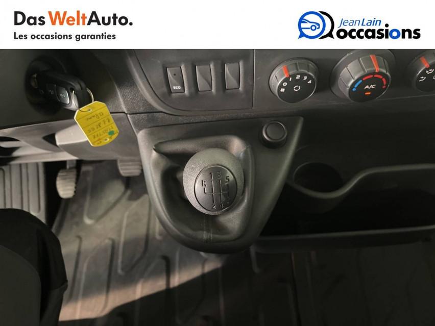 RENAULT MASTER CHASSIS DBLE CAB MASTER 2.3dCi  L2H1 3.5t 130CH 30/08/2019                                                      en vente à Seynod - Image n°13