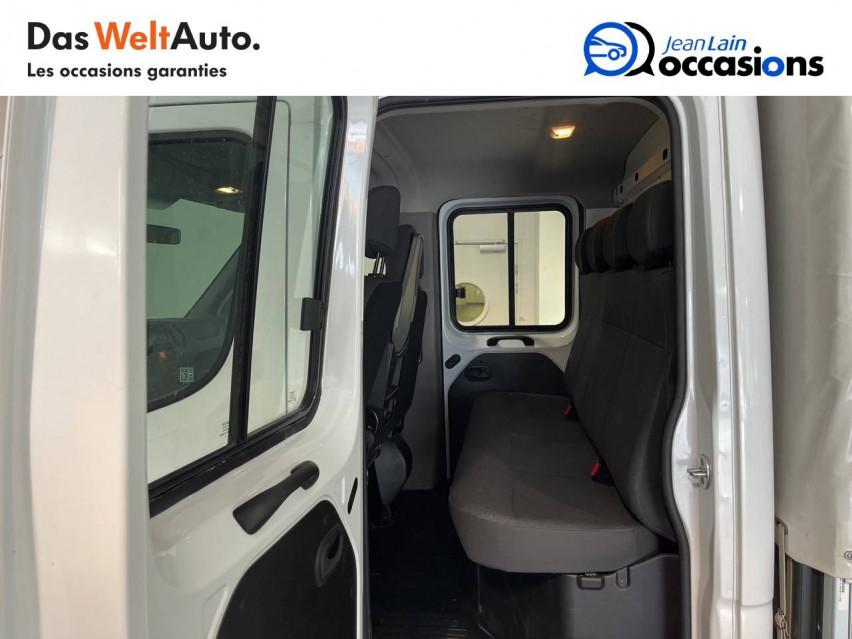 RENAULT MASTER CHASSIS DBLE CAB MASTER 2.3dCi  L2H1 3.5t 130CH 30/08/2019                                                      en vente à Seynod - Image n°17