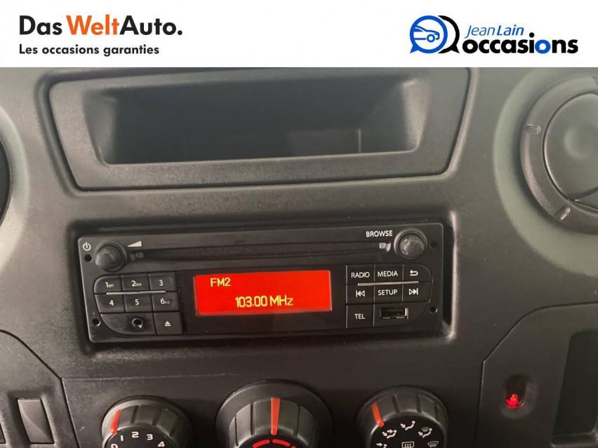 RENAULT MASTER CHASSIS DBLE CAB MASTER 2.3dCi  L2H1 3.5t 130CH 30/08/2019                                                      en vente à Seynod - Image n°16