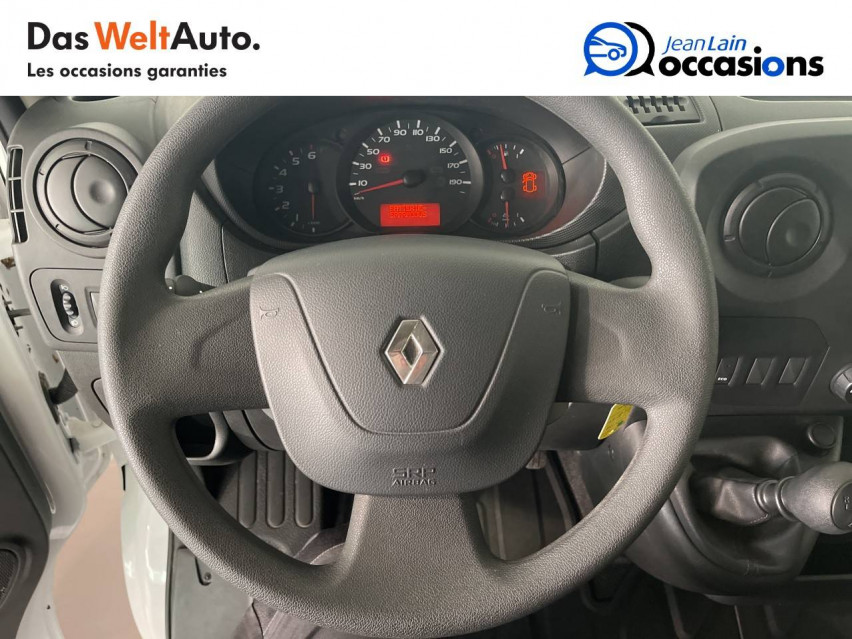 RENAULT MASTER CHASSIS DBLE CAB MASTER 2.3dCi  L2H1 3.5t 130CH 30/08/2019                                                      en vente à Seynod - Image n°12