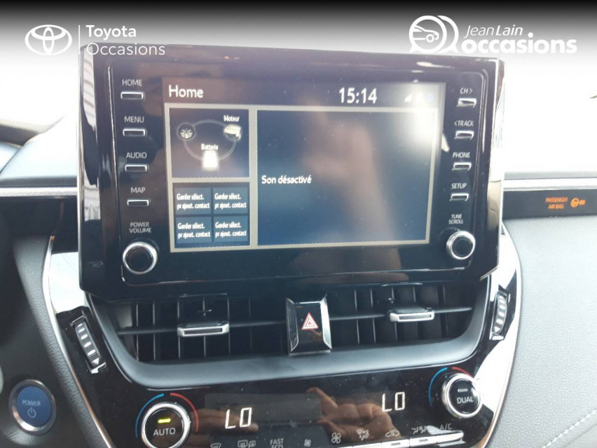 TOYOTA COROLLA TOURING SPORTS HYBRIDE MY21 Corolla Touring Sports Hybride 122h Design 11/06/2021                                                      en vente à Valence - Image n°15