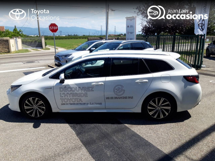 TOYOTA COROLLA TOURING SPORTS HYBRIDE MY21 Corolla Touring Sports Hybride 122h Design 11/06/2021                                                      en vente à Valence - Image n°8