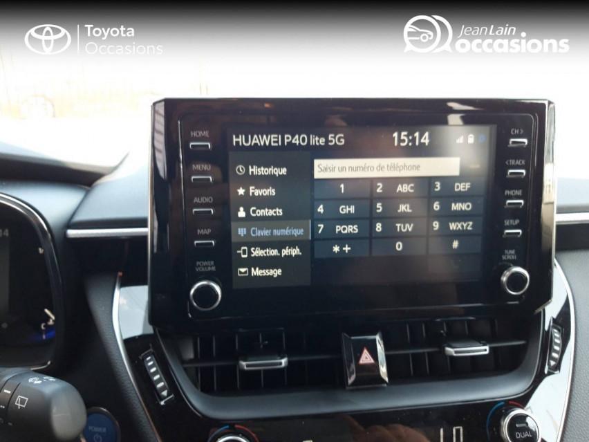 TOYOTA COROLLA TOURING SPORTS HYBRIDE MY21 Corolla Touring Sports Hybride 122h Design 11/06/2021                                                      en vente à Valence - Image n°16