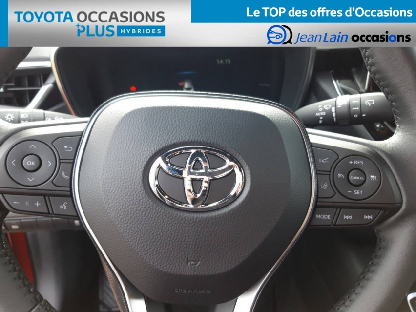 TOYOTA COROLLA HYBRIDE Corolla Hybride 122h Design 21/12/2020                                                      en vente à Valence - Image n°12