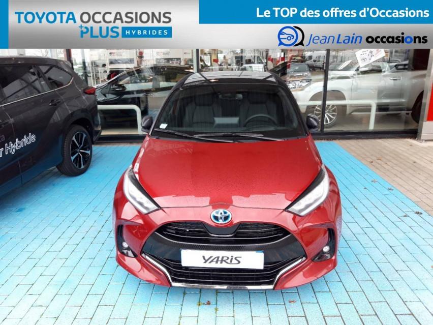 TOYOTA YARIS HYBRIDE NOUVELLE Yaris Hybride 116h Collection 31/12/2020                                                      en vente à Valence - Image n°2