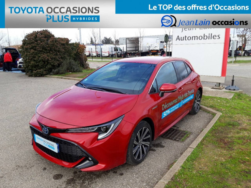 TOYOTA COROLLA HYBRIDE Corolla Hybride 122h Design 21/12/2020                                                      en vente à Valence - Image n°1