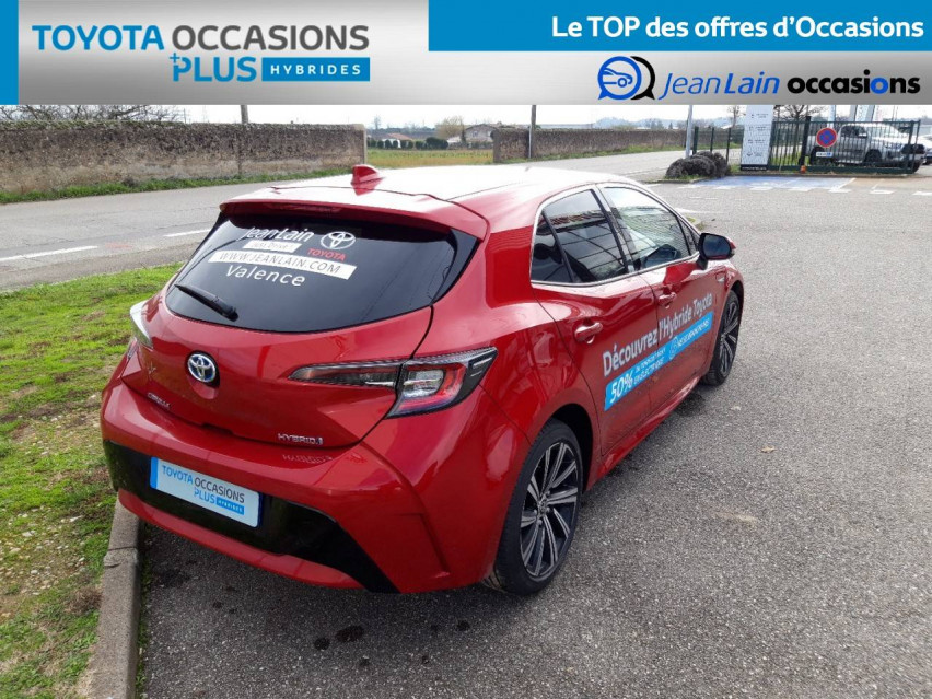 TOYOTA COROLLA HYBRIDE Corolla Hybride 122h Design 21/12/2020                                                      en vente à Valence - Image n°5