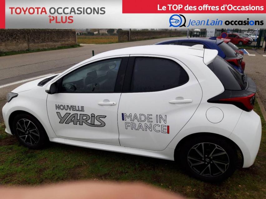 TOYOTA YARIS NOUVELLE Yaris 70 VVT-i Design 21/12/2020                                                      en vente à Valence - Image n°8