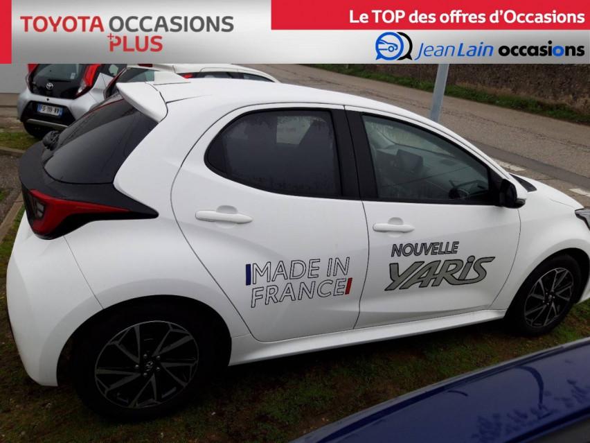 TOYOTA YARIS NOUVELLE Yaris 70 VVT-i Design 21/12/2020                                                      en vente à Valence - Image n°4