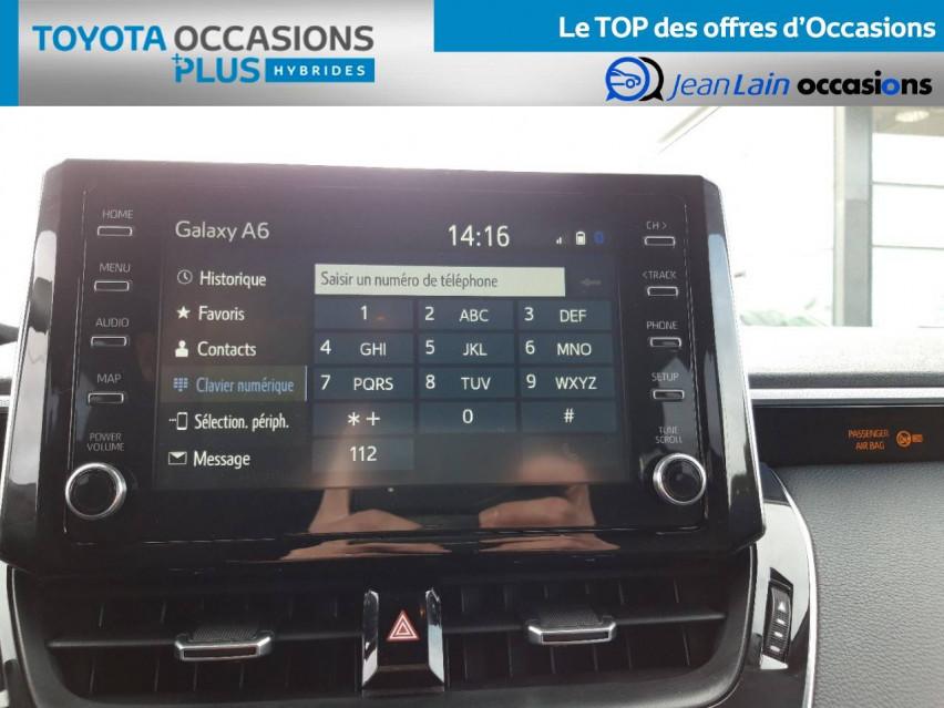 TOYOTA COROLLA HYBRIDE Corolla Hybride 122h Design 21/12/2020                                                      en vente à Valence - Image n°16