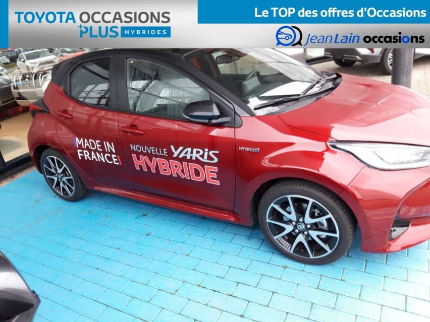 TOYOTA YARIS HYBRIDE NOUVELLE Yaris Hybride 116h Collection 31/12/2020                                                      en vente à Valence - Image n°4