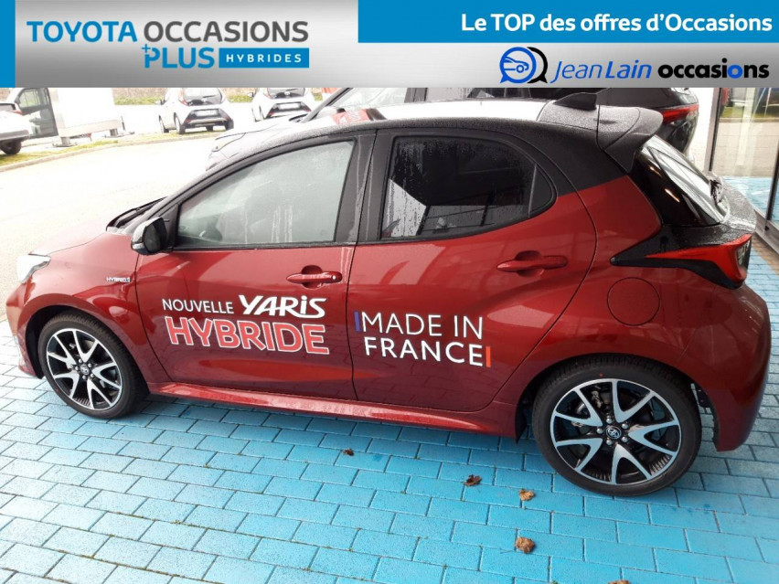 TOYOTA YARIS HYBRIDE NOUVELLE Yaris Hybride 116h Collection 31/12/2020                                                      en vente à Valence - Image n°8