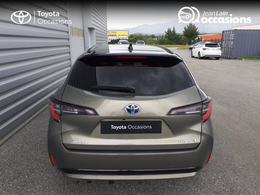 TOYOTA COROLLA TOURING SPORTS HYBRIDE MY20 Corolla Touring Sports Hybride 122h Design 27/02/2020                                                      en vente à Chatuzange-le-Goubet - Image n°6