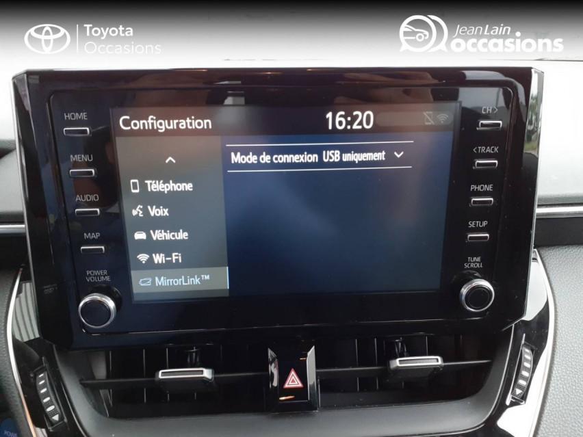 TOYOTA COROLLA TOURING SPORTS HYBRIDE MY20 Corolla Touring Sports Hybride 122h Design 27/02/2020                                                      en vente à Chatuzange-le-Goubet - Image n°15