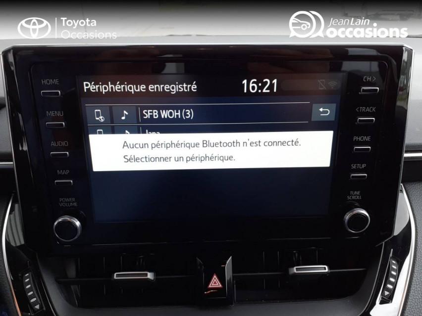 TOYOTA COROLLA TOURING SPORTS HYBRIDE MY20 Corolla Touring Sports Hybride 122h Design 27/02/2020                                                      en vente à Chatuzange-le-Goubet - Image n°16