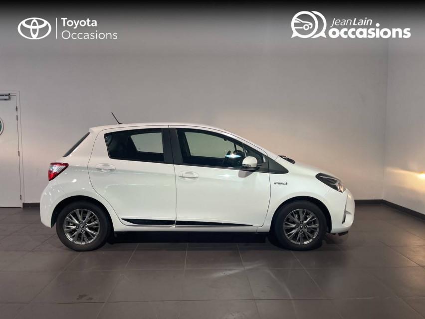TOYOTA YARIS HYBRIDE MC2 Yaris Hybride 100h Dynamic 15/05/2018                                                      en vente à Meythet - Image n°4