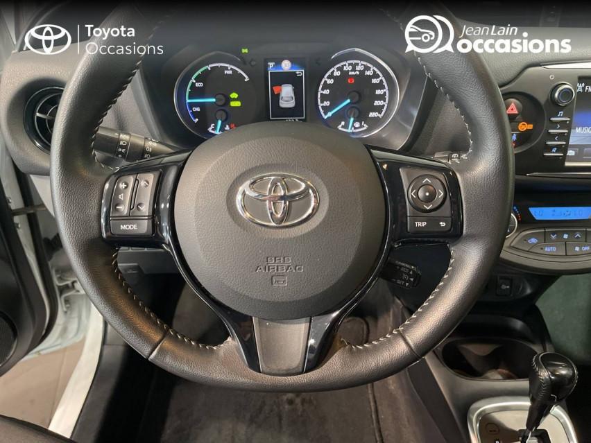 TOYOTA YARIS HYBRIDE MC2 Yaris Hybride 100h Dynamic 15/05/2018                                                      en vente à Meythet - Image n°12