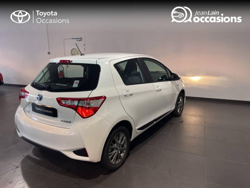 TOYOTA YARIS HYBRIDE MC2 Yaris Hybride 100h Dynamic 15/05/2018                                                      en vente à Meythet - Image n°5