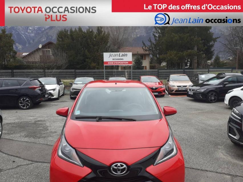 TOYOTA AYGO Aygo 1.0 VVT-i x-red 14/11/2017                                                      en vente à Crolles - Image n°2
